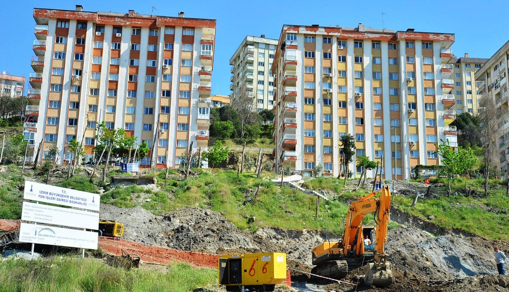İzmir Güzeltepe Kentsel Dönüşüm Projesi