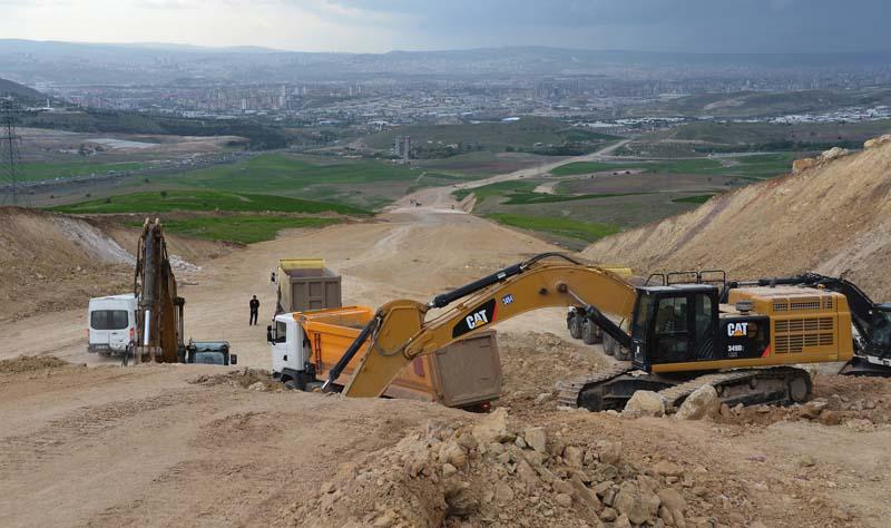 Ankara 'ya Yeni Bir Bulvar Daha Yapılıyor