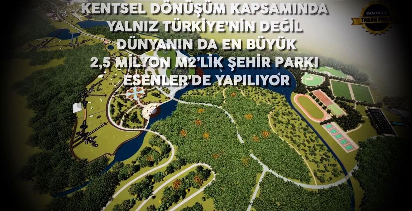 Esenler Millet Bahçesi ve Kentsel Dönüşüm Planı
