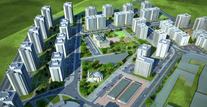 Ankara Sincan da Yeni Bir Şehir Kuruluyor