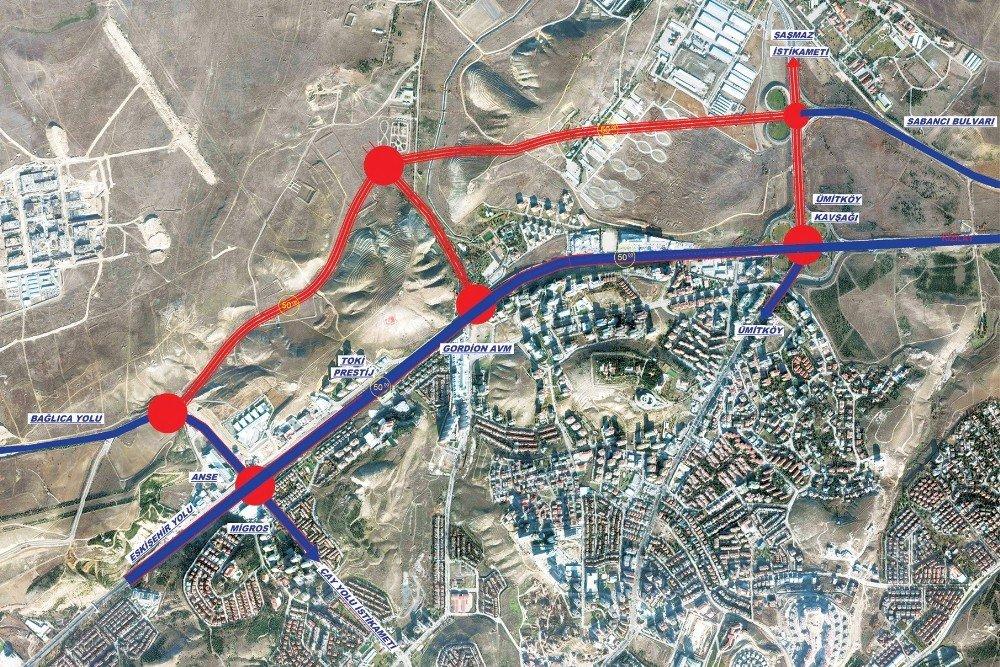 Ankara'ya 4 Kilometrelik Yeni Bulvar Geliyor