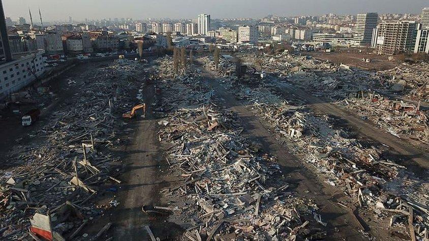 İstanbul Nakliyeciler Sitesindeki Yıkım Bitti