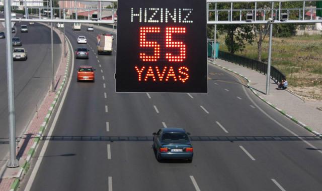 Otobanlarda 2019 Yılı Hız Koridoru ve Radar Hız Limit Cezaları