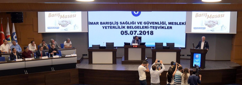 İzmir Ticaret Odası (İZTO) İmar Barışı Masası Kuruldu