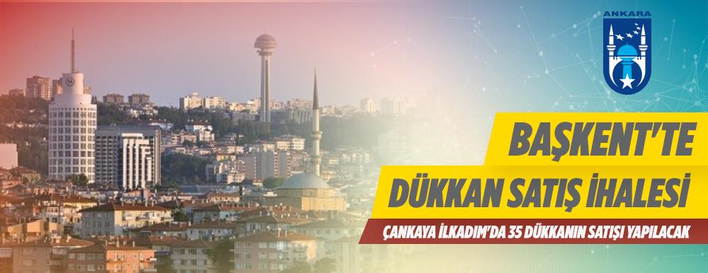 Ankara Büyükşehir Belediye Başkanlığınca 35 Adet Dükkanın Satış İhalesini Yapılacaktır