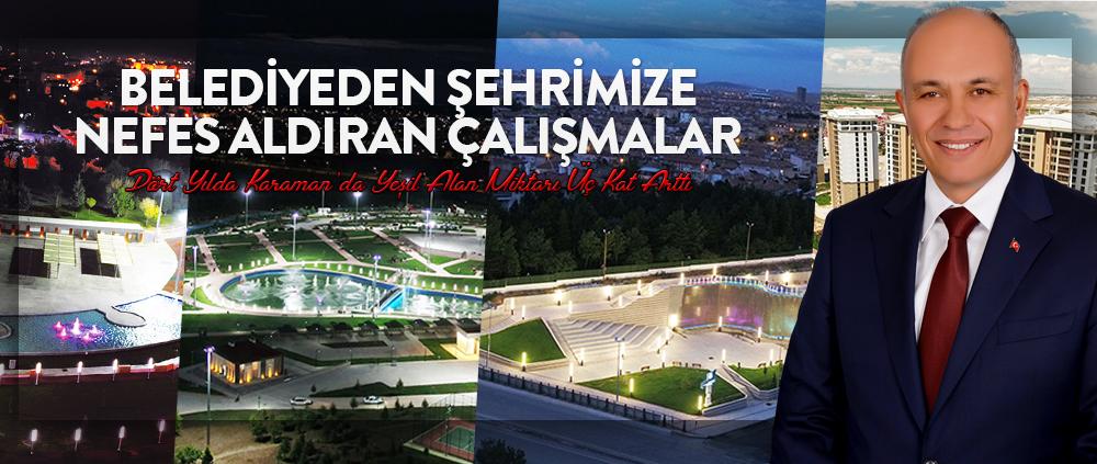 Karaman Belediyesi 4 Yılda 25 Park Yapmış