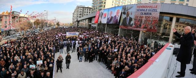 Fethi Yaşar Ankara Yenimahalle'den 3.Kez Aday