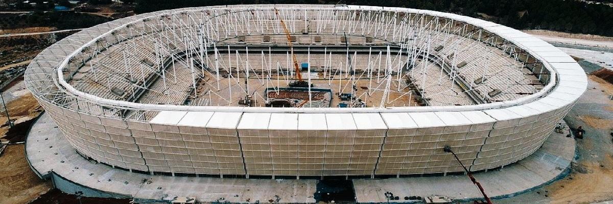 Adana'nın Yeni Stadyumu Koza Arena'nın Son Hali