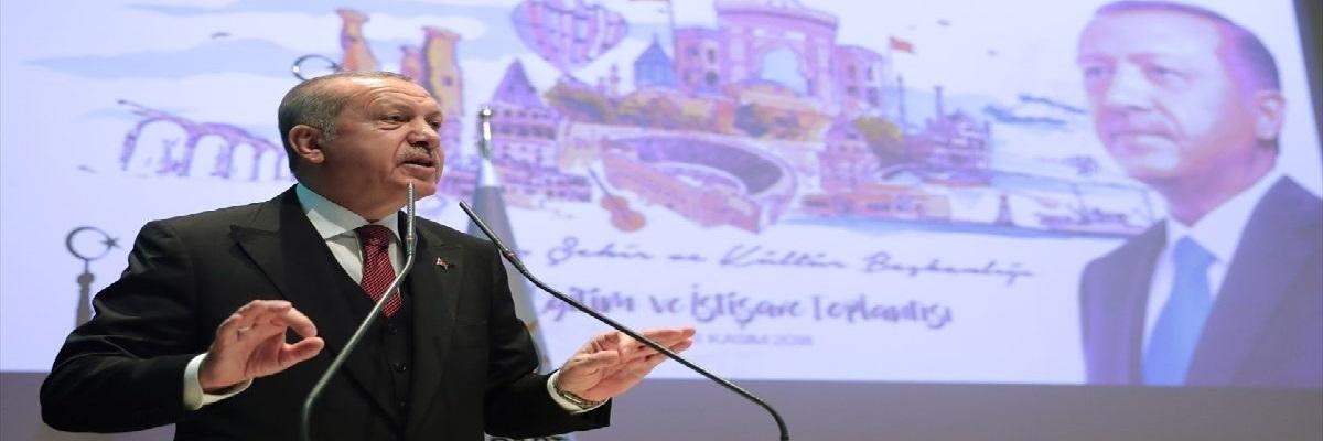 Erdoğan: Dikey Değil,Yatay Mimariden Yanayım