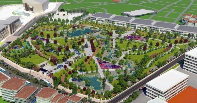 Ankara'nın İlk Millet Bahçesi Gölbaşı'nda Yapılacak