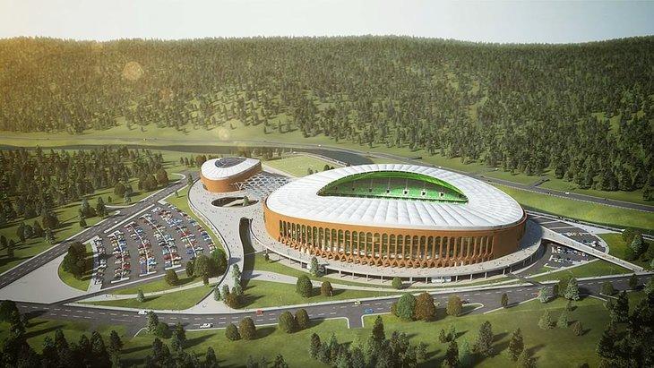 Giresun Çotanak Spor Kompleksi Sona Yaklaşıyor