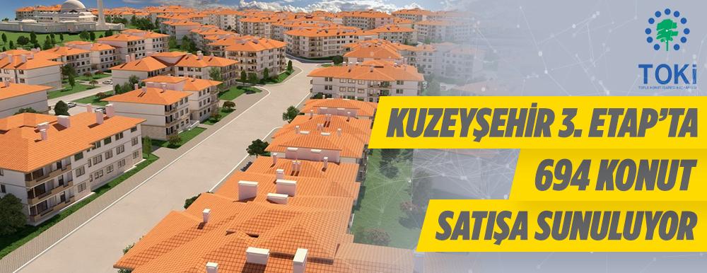 Gaziantep Şehitkamil Kuzeyşehir 3. Etap 694 Adet Konut Satışa Sunuluyor