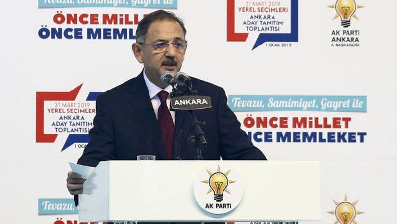 Mehmet Özhaseki Ankara İçin 111 Projesini Açıkladı