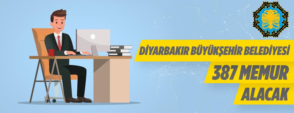 Diyarbakır Büyükşehir Belediye Başkanlığına 387 Memur Alınacak