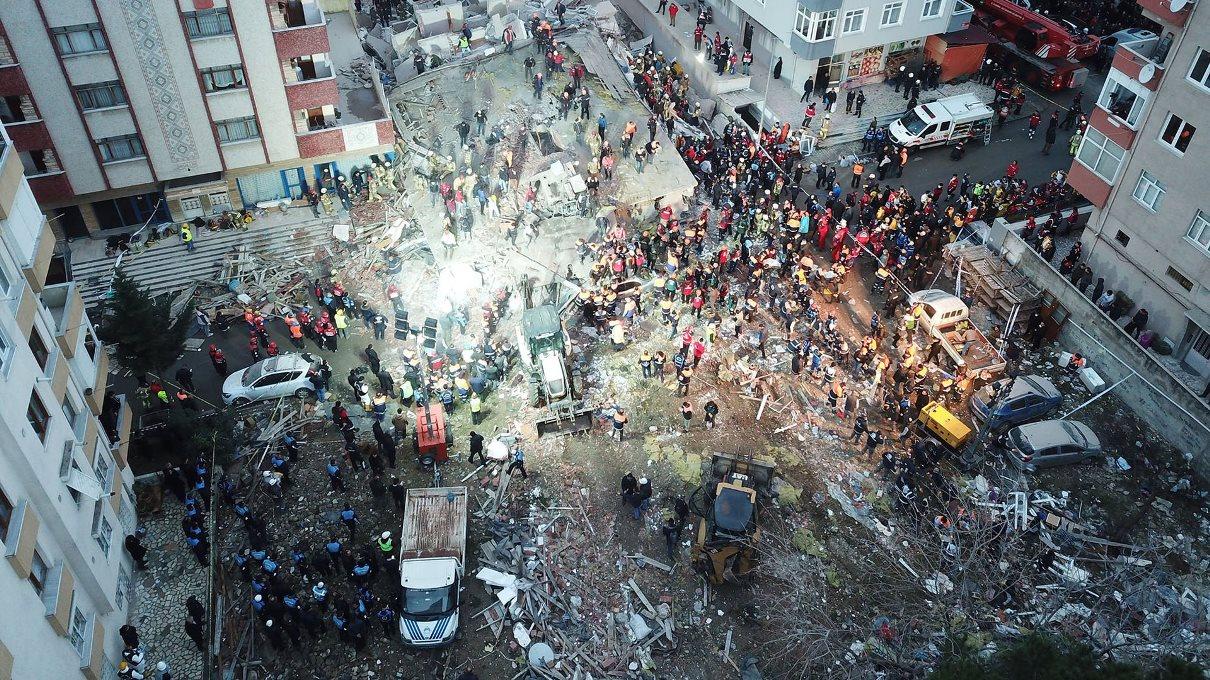 İstanbul'da Çöken Bina İmar Barışına Başvurmuş