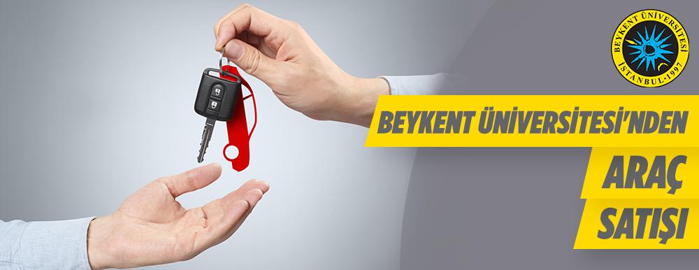 Beykent Üniversitesi Araç Satış İhalesi