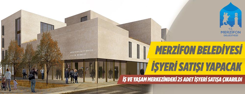 Amasya Merzifon Belediyesi İş ve Yaşam Merkezindeki İş Yerlerini Satışa Çıkardı