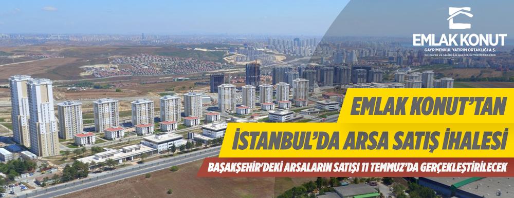 İstanbul Başakşehir'de Arsalar Açık Artırmayla Satılacak