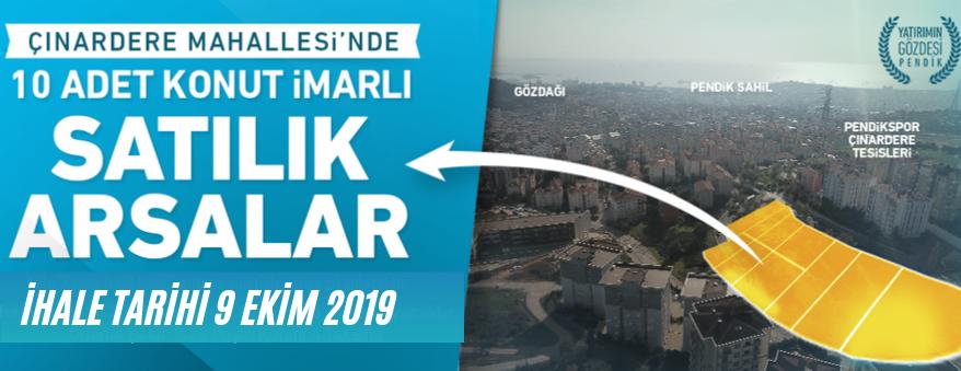 İstanbul Pendik Belediyesince Arsa Satışı Yapılacaktır