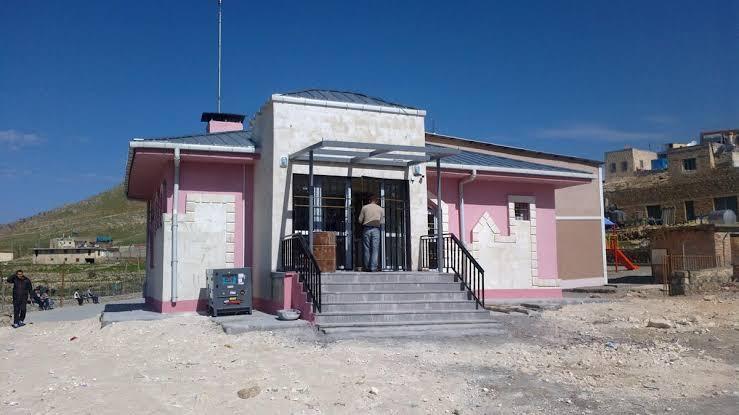 Mardin Dargeçit Belediyesi Sağlık Evi Tadilatı Bitti