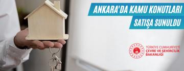 Ankara'da Kamu Lojmanları Satışa Sunuldu