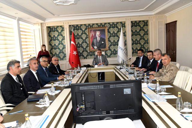 Adıyaman'da Bağımlılıkla Mücadele İl Koordinasyon Toplantısı Yapıldı