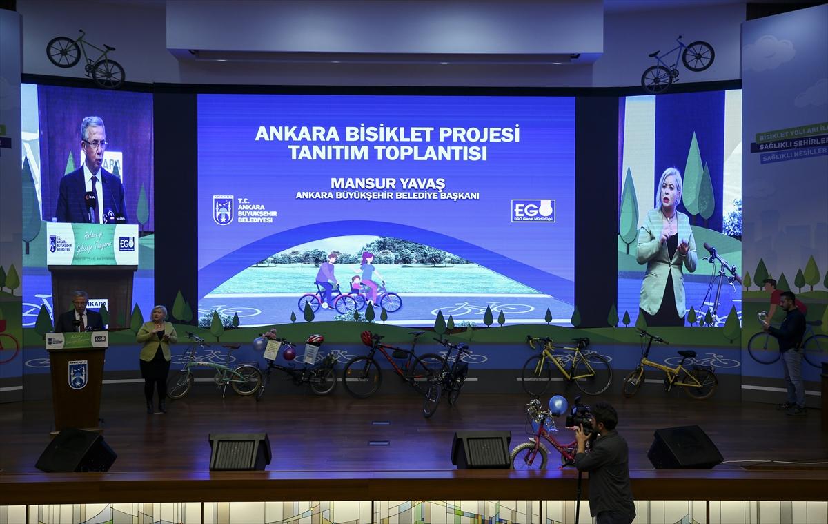 Ankara'ya 53,7 Kilometrelik Bisiklet Yolu Projesi Geliyor