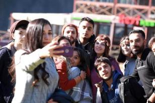 Ayder Yaylası'nda Ara Tatil Yoğunluğu