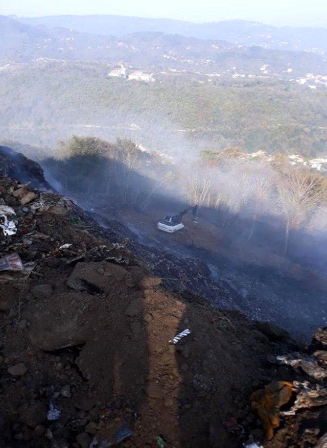 Çöp Alanı Paraşüt Pistine Dönüştürülüyor
