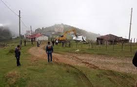 Trabzon ve Giresun'un Ortak Yaylasında Kaçak Yapıları Yıkıma Devam Ediyor