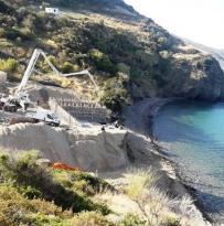 İzmir'de Denize Sıfır Yapılar Yıkıldı