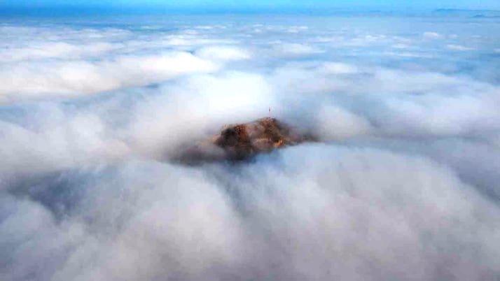 Karahisar Kalesi Manzarasıyla Ortalığı Yıkıyor