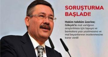 Ankara'nın Eski Başkanı Gökçek'in Mal Varlığı Araştırılacak