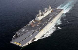2020 Yılında Türkiye'nin En Büyük Savaş Gemisİ Hizmete Başlıyacak