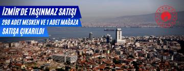 İzmir Çevre ve Şehircilik İl Müdürlüğü Tarafından 298 Mesken Ve Bir Mağaza İhale İle Satılacak