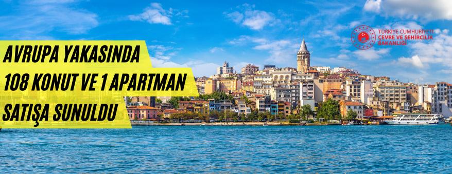 İstanbul Çevre ve Şehircilik Müdürlüğü 109 Daire Satışı