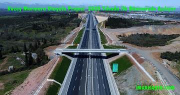 Kuzey Marmara Otoyolu Projesi 2020 Yılının İlk Döneminde Açılıyor