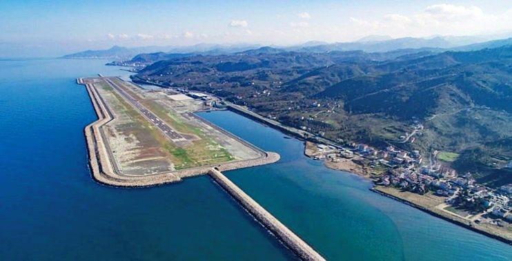 Artvin Havalimanının Yarısından Fazlası Tamamlandı