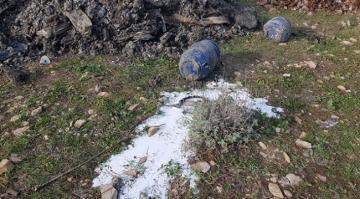 Bursa'da Araziye Dökülen Kimyasal Atık İmha Edilecek