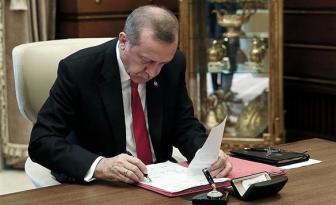 Cumhurbaşkanı Erdoğan Atamaları İmzalandı