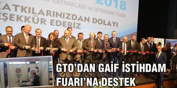 Gaziantep İstihdam Fuarı (GAİF) Standına Yoğun İlgi