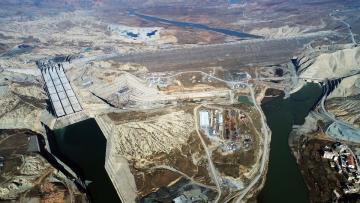 Ilısı Barajında Sular Yükseliyor Türbeler Taşınıyor