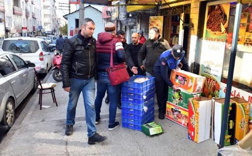 Bursa Osmangazi'de Kaldırım İşgaline Taviz Yok