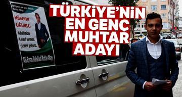 Kırşehir Ahi Evran Mahallesinin 18 Yaşındaki Muhtarı Gazete Satın Aldı