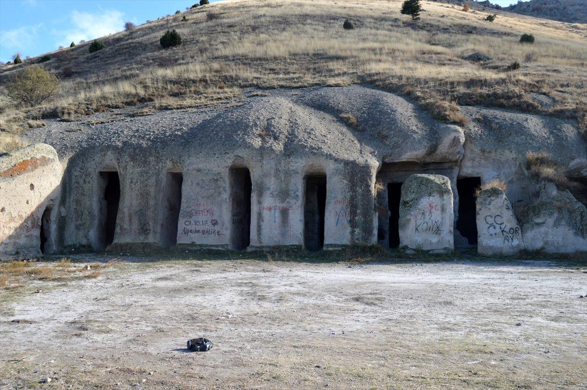 Tarihi Yedikapılar Yeraltı Şehri turizme kazandırılmayı bekliyor