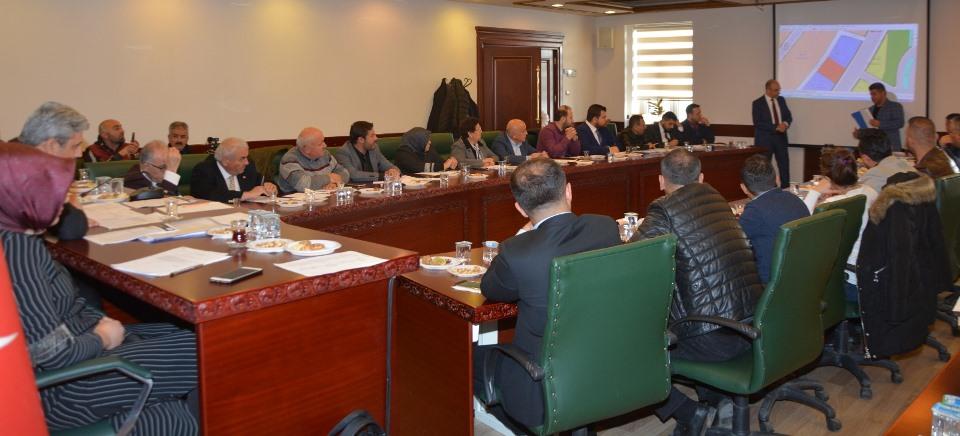Yozgat Belediye Meclis Toplantısı Kararları