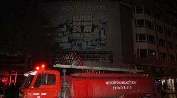 Amasya Avm'de Yangın: 2 ölü, 4 yaralı
