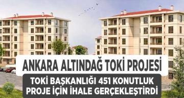 TOKİ Ankara'nın Altındağ İlçesinde Kentsel Dönüşüm Başlıyor