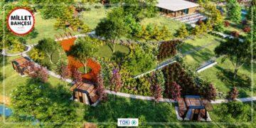 Aydın Nazilliye Millet Bahçesi Yapılıyor