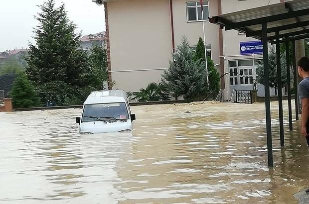 Sakarya Kaynarca Sular Altında Kaldı